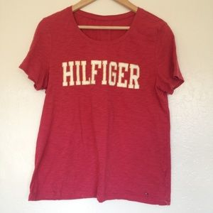 Tommy Hilfiger Relaxed Fit Spell Out Tee M